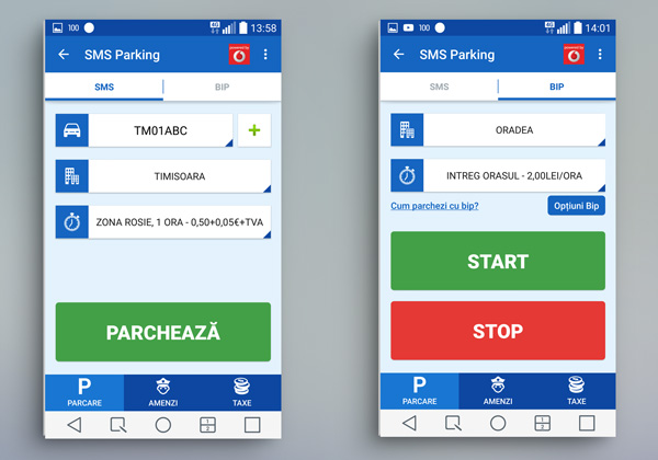 SMS Parking - Parcare