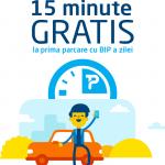 Parcare Oradea - 15 minute gratis