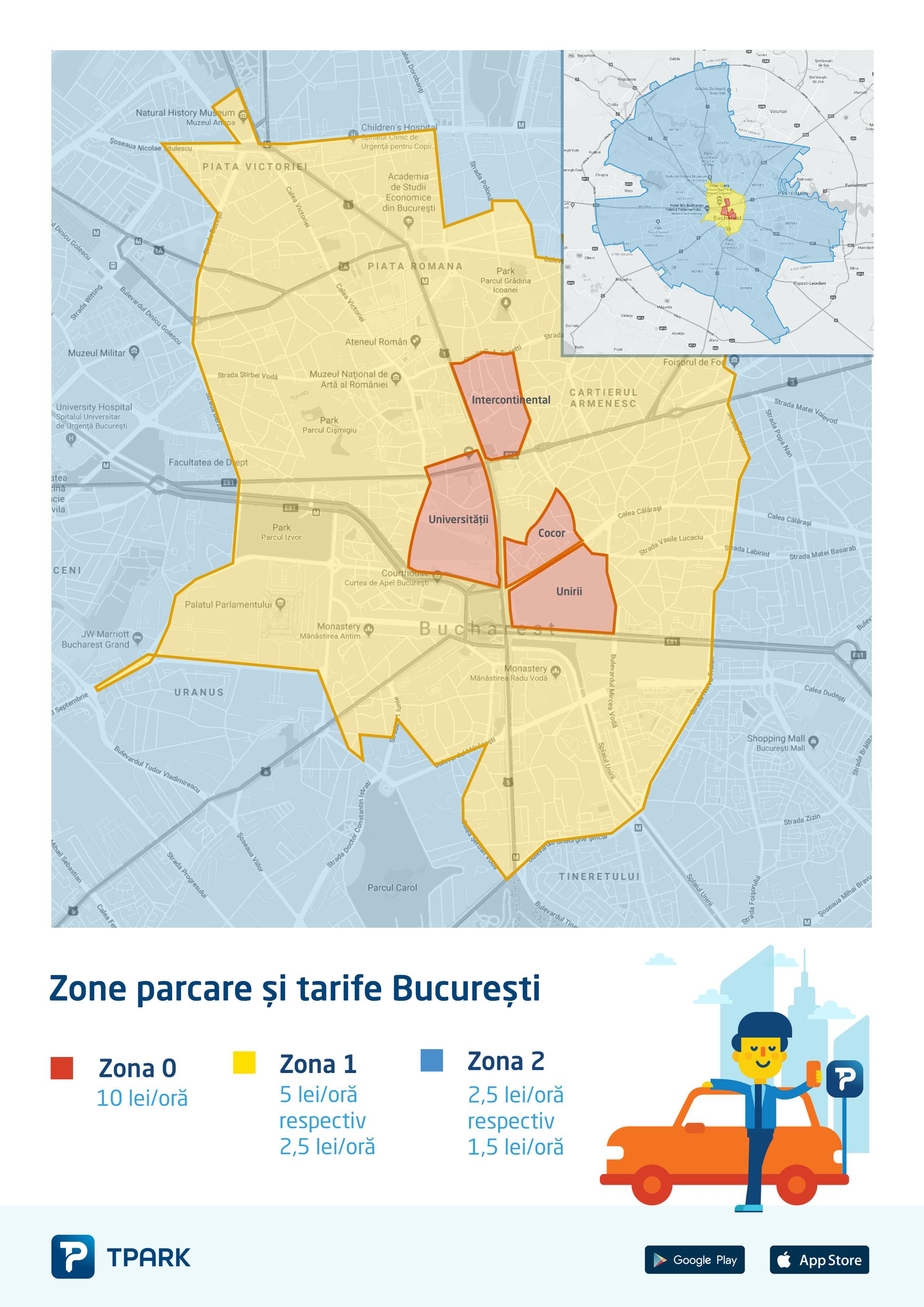 Parchezi In București Vezi Care Sunt Zonele In Care Se Aplică